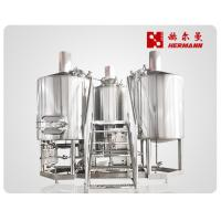 China 3 Bbl Draught Beer Machine , Commercial Brewing Equipment For Hotel on sale