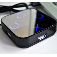 Wholesale Mirror 4 port USB HUB with Light LOGO from china suppliers