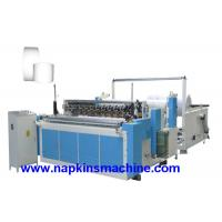 China High Speed Fully Auto Paper Roll Rewinding Machine / Paper Slitter Machine wholesale