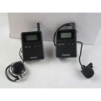 Wholesale Stereo 008A Tour Guide Transmitter , Tour Guide Receiver For Travel Agencies from china suppliers
