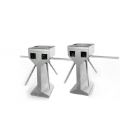 Wholesale Bi - Directional Semi Automatic 3 Arm Turnstile Tripod with RFID Reader from china suppliers