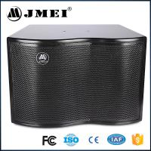 China 200w 250w 8 ohm Karaoke Loudspeaker Sound Systems 10 12 inch Wood Box on sale