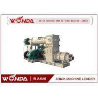 Wholesale Reamer Soild Clay Brick Making Machine , Clay Brick Extruder Machine Large Output from china suppliers