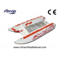 Comfortable three person high speed inflatable boats for 3 person fishing boat