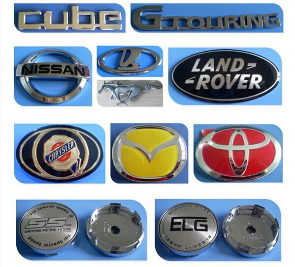Land Rover Logo Cap: Chrome Land Rover Alloy Wheel Center Cap Emblems Car Logo
