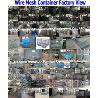 Wire Mesh Container Factory View__