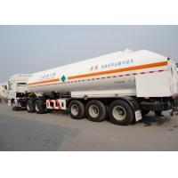 Wholesale 51550L 3 Axles LNG Tank Truck Trailer , Stainless Steel LNG Transport Trailers from china suppliers