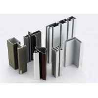 Wholesale Modular T Slotted Aluminum Extrusion Profiles / Aluminum Door And Window Frames from china suppliers