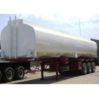 Wholesale 40000L Diesel Fuel Carbon Steel Tanker Trailer , Liquid Tank Semi Trailer from china suppliers