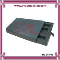 Wholesale Black cosmetic paper slide box with EVA insert ME-DR002 from china suppliers