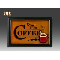 Wholesale Coffee House Wall Decor Antique Wooden Wall Signs Decorative Wall Plaques Home Decor from china suppliers