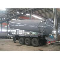Wholesale Tri Axles Vac Semi Septic Pump Trailer For Off Road And Oil Field Operation 28000 L from china suppliers