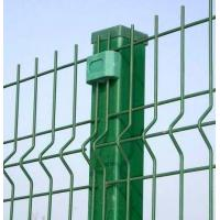 Wholesale Green PVC coated welded wire fence and post from china suppliers