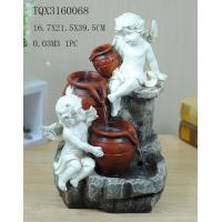 Wholesale Angel Hand Painting Polyresin Water Fountain Landscape Electricity Power from china suppliers