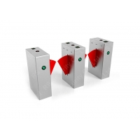 Wholesale Single Or Double Core Flap Barrier Gate Turnstile With Automatic Reset from china suppliers