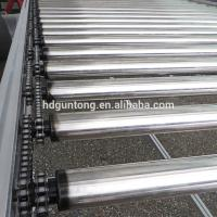 Wholesale Adjustable Chain Driven Roller Conveyor With Drum Motor Roller For Food Industry from china suppliers