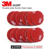 Wholesale Double Sided Adhesive Acrylic Foam 3M 4229P Kiss Cut Tape 75MM Circle Gray 3M Automotive Car Tape from china suppliers