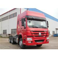 Wholesale SINOTRUK HOWO 10 Wheeler Tractor Head 6x4 420HP 371HP Heavy Duty Prime Mover from china suppliers