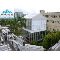 Wholesale Customized Size Waterproof Double Decker Tent For Exhibition With ABS Wall from china suppliers