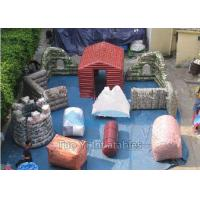 Wholesale Fire Proof PVC Inflatable Paintball Bunkers For Military Laser Tag Arena from china suppliers