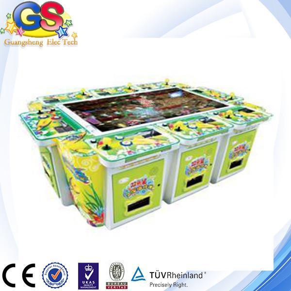 2014 igs 3d shooting fish amusement fishing game machine for Fish game machine