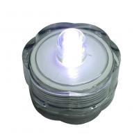 Warm White Led Candle Light , High Safety Submersible Tea Light Candles
