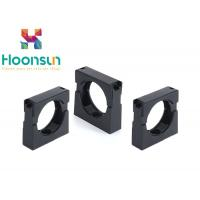China Nylon Plastic Hose Clamps Flexible Corrugated Conduit Pipe Clamp In Black on sale