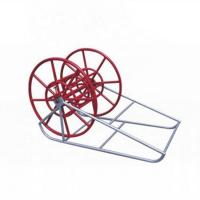Wholesale ISO 15101 59kg Hydraulic Tensioner Electrical Cable Reel Stands For Overhead Line from china suppliers