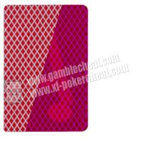 Yaoji Red Invisible Poker / Cheating Playing Cards For Gambling Cheat