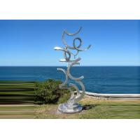 Wholesale Contemporary Art Stainless Steel Sculpture For Outdoor Decoration Anti Corrosion  from china suppliers