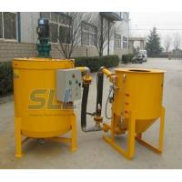 Wholesale Hydraulic High Pressure Grout Mixer Machine Special Design Seal Structure For The Pump from china suppliers