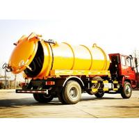 Wholesale Tilt Steering Wheel Vacuum Sewage Suction Truck / Sewage Cleaning Truck from china suppliers