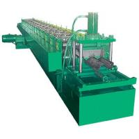 Wholesale Hydraulic pre-punching and cutting guardrail roll / sheet forming machine from china suppliers