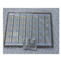 China 78 * 66mm White FR4 PCB 1.6MM Thickness For Lamps / Lanterns Application wholesale
