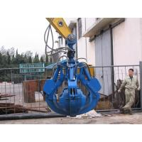 Wholesale Professional Excavator Grab Attachment Excavator Orange Peel Grab Bucket Large Capacity from china suppliers