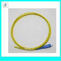 Wholesale SC PC 3.0mm singlemode fiber optic pigtail from china suppliers
