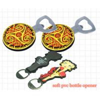 Wholesale All-purpose soft pvc beer bottle opener for souvenir gifts from china suppliers