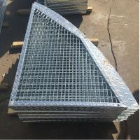 Wholesale Outdoor Anti Slip Galvanized Bar Grating, 30 * 3mm Metal Grid Flooring from china suppliers