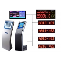Wholesale Cold Rolled Steel Wireless Token Display System For Hospitals from china suppliers