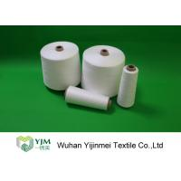 Wholesale 42/2 Raw White Bright Ring Spinning Polyester Yarn Paper Cone 1.67KG from china suppliers