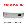 Buy cheap StarHub box Singapore Blackbox C801 HD cable TV Receiver newer than Blackbox hd from wholesalers