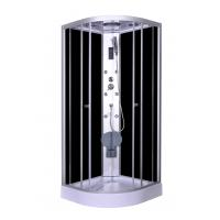 Buy cheap Steam Massage with Electronic computer panel Circle Quadrant Shower Cabin with from wholesalers
