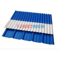 Pvc Corrugated Roof Panel Roll Forming Machine With Round
