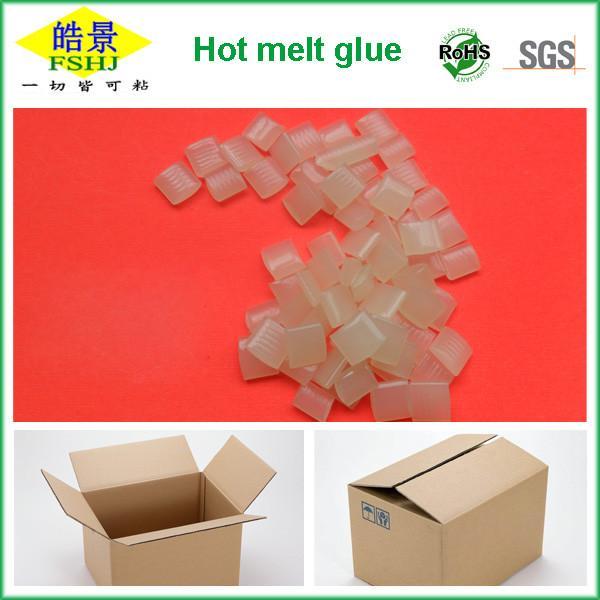 Quality C5 HMA Packaging EVA  Based Hot Melt Adhesive High Temperature Glue 115±2°C for sale