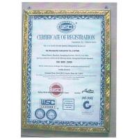 HK Wonderful Industrial Co.,Limited Certifications