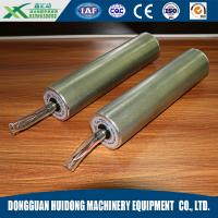Wholesale Electric Warehouse Conveyor Rollers , Stainless Steel Metal Conveyor Rollers from china suppliers