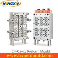 China 24 cavity PET preform mold with Air shut off nozzle wholesale