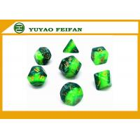 Wholesale Different Colors Play Gaming Accessories 10 Sided Marble Polyhedral Dice D10 Set from china suppliers