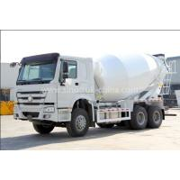 Wholesale 12cbm Tanker Cement Mixer Lorry High Collision Resistance With Hydraulic System from china suppliers