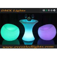 Wholesale Plastic Portable LED Cocktail Table Rechargeable Led Light Up Glowing Bar Outdoor from china suppliers